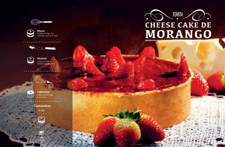 Cheese Cake de Morango