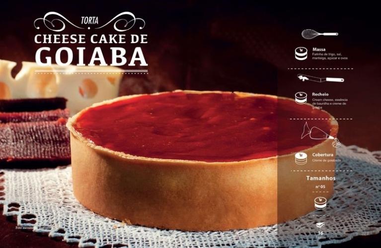 Cheese Cake de Goiabada
